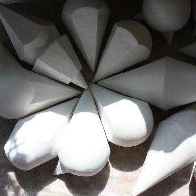 Creation sculpture porcelaine cru