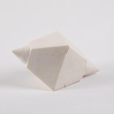 Sculpture bouée porcelaine